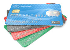 Credit Cards. Stock Photography