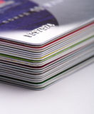 Credit cards Stock Photos