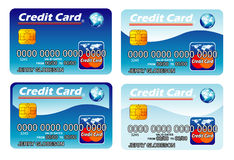 Credit Cards template Stock Photography