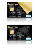 Credit cards. Vector illustration. Royalty Free Stock Image