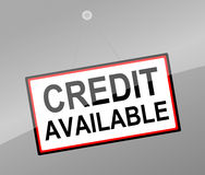 Credit concept. Royalty Free Stock Photos