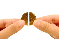 Credit Crunch Royalty Free Stock Images