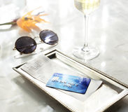 Credit Debit Card Financial Money Paying Balance Concept Royalty Free Stock Image