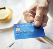 Credit Debit Card Financial Money Paying Balance Concept royalty free stock photo
