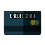 Credit or debit card icon image. Illustration design Stock Image