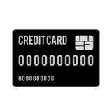 Credit or debit card icon image. Vector illustration design Royalty Free Stock Photos