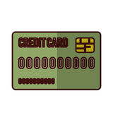 Credit or debit card icon image. Vector illustration design Royalty Free Stock Image