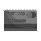 Credit or debit card icon image. Vector illustration design Stock Photography