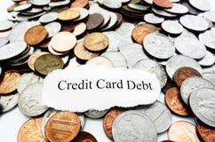 Credit debt Royalty Free Stock Photo