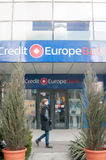 Credit europe bank Royalty Free Stock Images