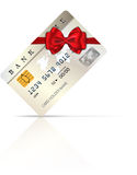 Credit gift card 1 Royalty Free Stock Photography