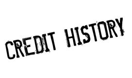 Credit History rubber stamp Royalty Free Stock Photo