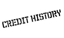 Credit History rubber stamp Stock Photos