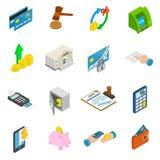 Credit icons set Stock Image