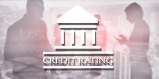 Credit Rating. Finance banking investment concept. Abstract background. Credit Rating. Finance banking investment concept. Abstract background royalty free stock photo