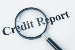 Credit Report Royalty Free Stock Photos