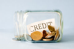 Credit Savings Stock Images