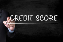CREDIT SCORE Stock Images