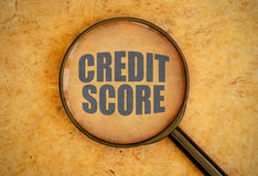 Credit score Royalty Free Stock Photography