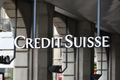 Credit Suisse obrazy stock