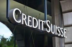 Credit Suisse fotos de stock