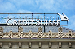 Credit Suisse obraz royalty free