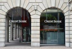 Credit Suisse imagens de stock