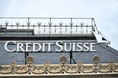 Credit Suisse fotografie stock libere da diritti