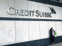 CREDIT SUISSE stock photography