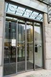 Credit Suisse packar ihop Royaltyfri Foto