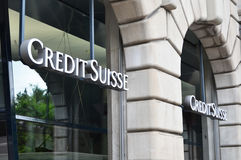 Credit Suisse Royalty Free Stock Photography