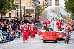 Credit Unions-Weihnachtsfestzug 2016 Lizenzfreie Stockfotografie