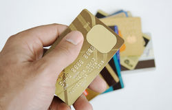 Creditcard Stock Afbeeldingen