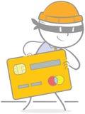 Creditcard-Diebstahl Lizenzfreies Stockfoto
