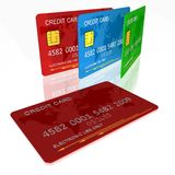 Creditcard s Royalty-vrije Stock Afbeelding