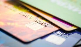 Creditcard s stock foto