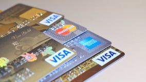 Creditcard s Royalty-vrije Stock Foto's
