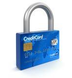 Creditcard - slot (het knippen inbegrepen weg) Stock Afbeeldingen