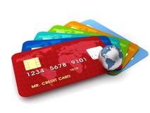 Creditcards stock illustratie