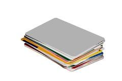 Creditcards foto de archivo libre de regalías