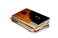Creditcards Photographie stock libre de droits