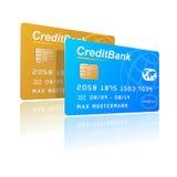 Creditcards Stock Afbeelding