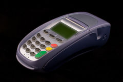 Creditcardterminal Stock Afbeelding