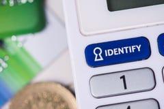Credito o protezione della carta di debito Fotografia Stock
