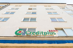 Creditplus bank Royaltyfri Foto