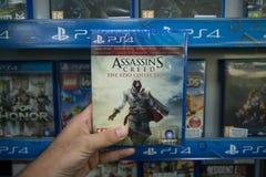 Credo dos assassinos a coleção de Ezio imagem de stock royalty free