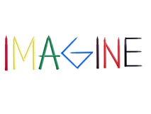 Cree el concepto con amor Imagenes de archivo
