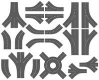 Cree su correspondencia (DIY). Pieza 3. caminos ilustración del vector