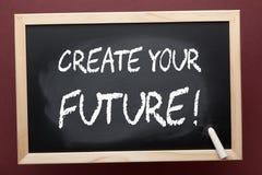 Cree su futuro fotos de archivo libres de regalías