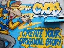 Cree sus #cyos originales de la historia imagenes de archivo